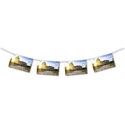 Colosseum Bunting 4.50m Length