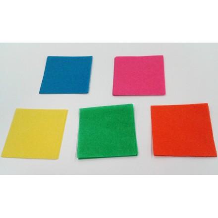 Square 50x50mm Tissue Paper Confetti 1kg