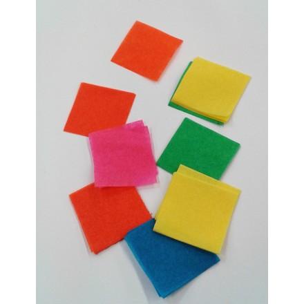 Square 30x30mm Tissue Paper Confetti 1kg