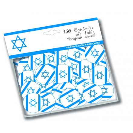 Israel flag confetti (150 pcs)