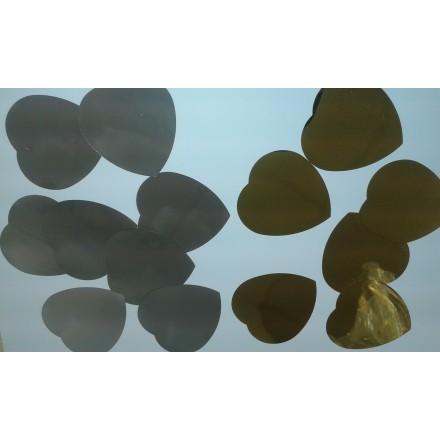 Foil Heart 55mm Confetti choose your color