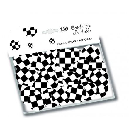 Chequered Table Confetti ( 150 pcs )