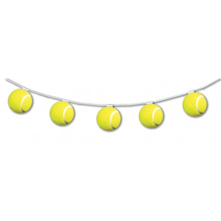 Tennis Ball bunting 10.5ft / 3.20m long