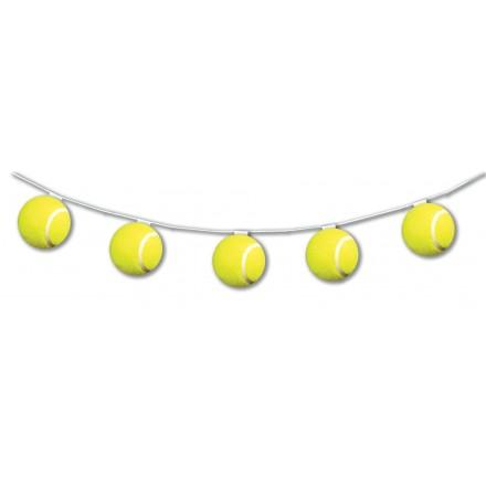 Tennis Ball bunting 10.5ft / 3.20m long