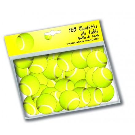 Tennis Ball Confetti (150 pcs)