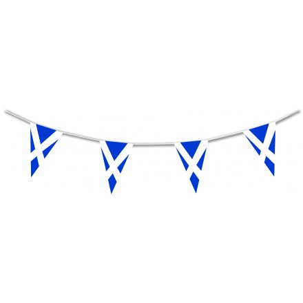 Scottish Pennant Flag Bunting