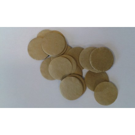 Paper Gold Circle Confetti 25mm 100g
