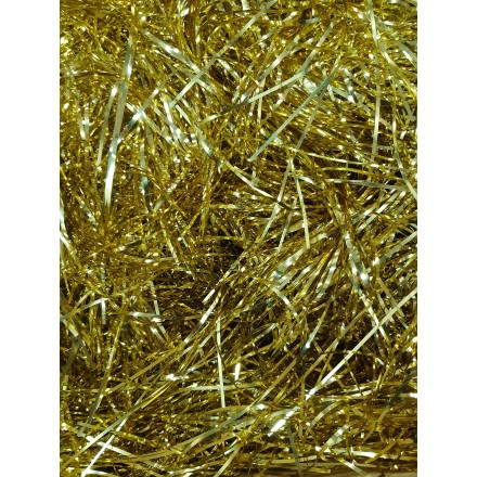 Gold foil angel hair 14g Christmas room decoration