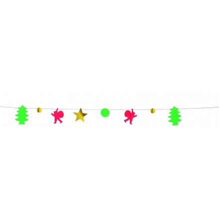 Merry Christmas garland