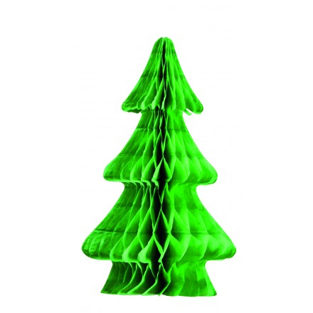 Green honeycomb Christmas tree