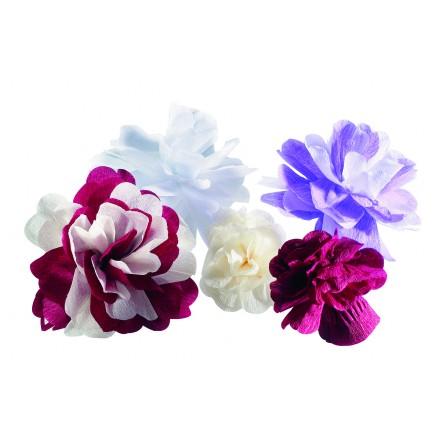 Crepe flower
