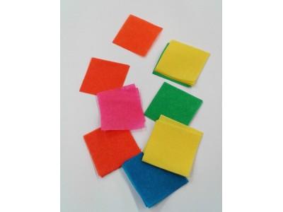 Square Tissue Paper Confetti