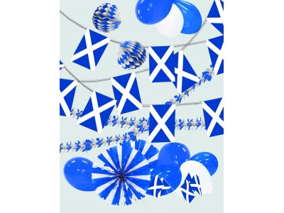 St Andrew's Day Decorations